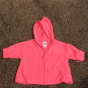 18 months Girls Swimsuit Cover - Hoodie